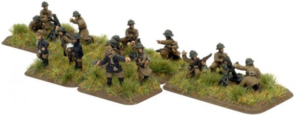 Flames of War - French: Company HQ (5)