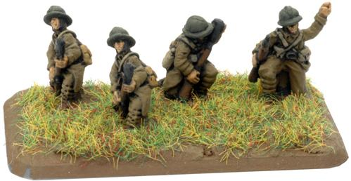 Flames of War - French: Fusiliers Platoon (8)