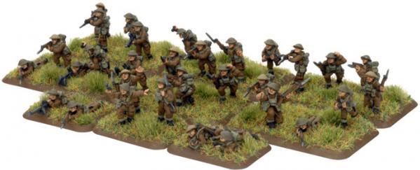 Flames of War - British: British Infantry Platoon