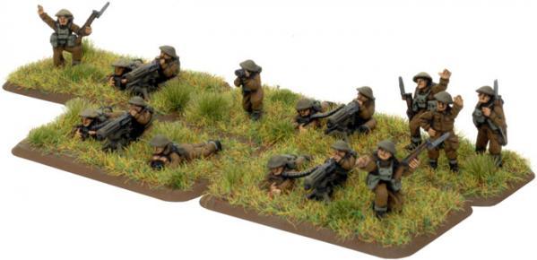Flames of War - British: Machine-gun Platoon