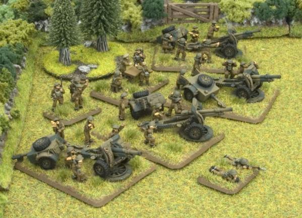 Flames Of War (WWII): (British) Field Battery Royal Artillery