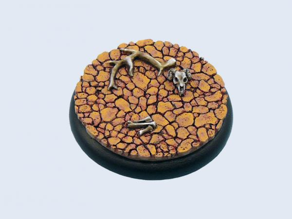 Battle Bases: Wasteland Bases, Round 50mm #1 (1)