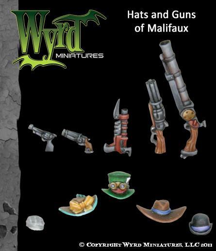 (Accessories) Hats & Guns