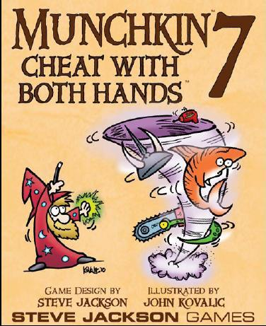 Munchkin 7: Cheat With Both Hands (Expansion)