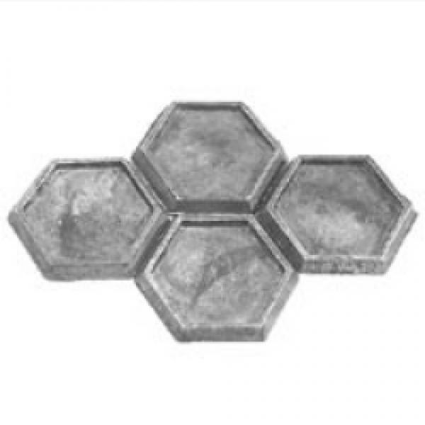 BattleTech Miniatures: Hex Bases (4)