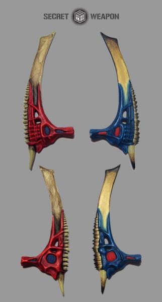 Large Bio Swords (2)