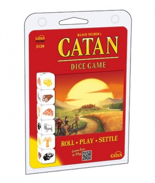 Catan: Dice Game Clamshell Edition