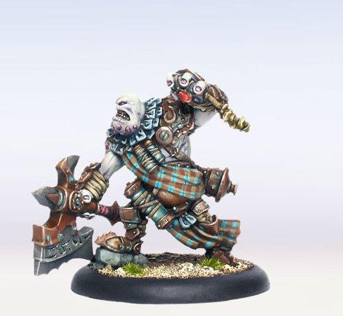 Hordes: (Trollbloods) Warlock Madrak Ironhide, Thornwood