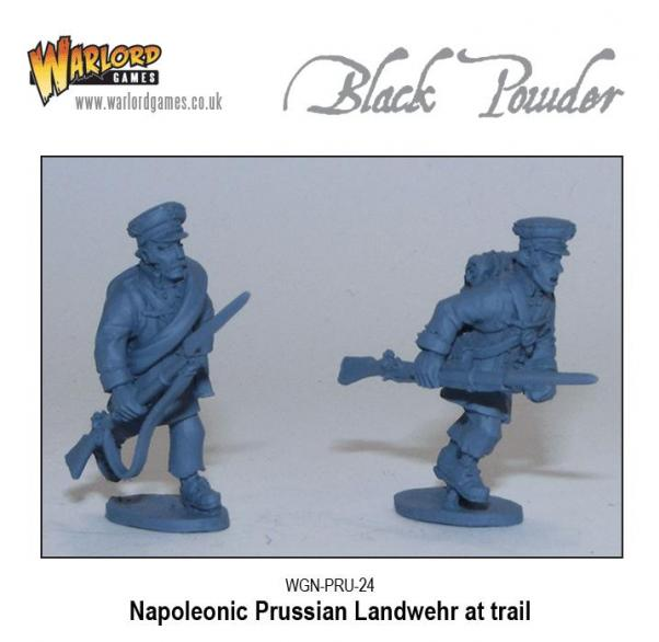 28mm Black Powder: Napoleonic - Prussian Landwehr with Pike / Musket (10)