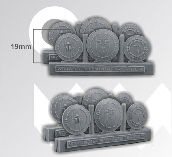 Conversion Parts: Egyptian Shields (6)