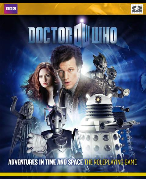 Doctor Who RPG: Adventures in Time and Space Boxed Game (Eleventh Doctor Edition)