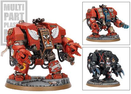 Warhammer 40K - Blood Angels: Furioso Dreadnought