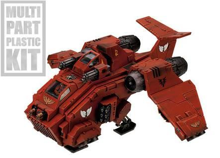 Warhammer 40K - Blood Angels: Stormraven Gunship