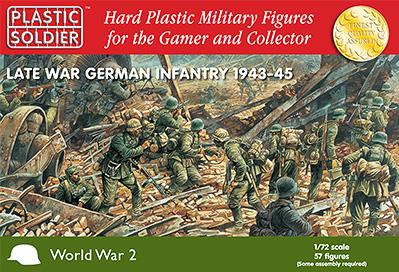 20mm WWII (German): Late War Infantry (57)