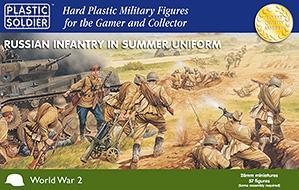 28mm WWII (Soviet): Infantry in Summer Uniform (57)