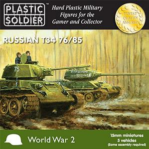 15mm WWII (Soviet): T34 76/85 Tanks