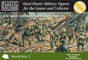 15mm WWII  (German): Late War German Infantry (130)