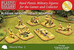 20mm WWII (Soviet): Summer Uniform Heavy Weapons