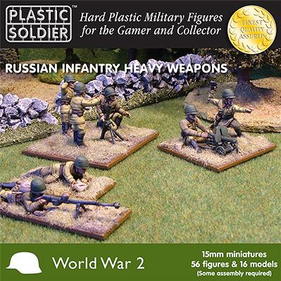 15mm WWII (Soviet): Heavy Weapons