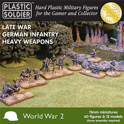 15mm WWII  (German): Late War Heavy Weapons