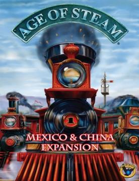 Age of Steam Expansion: China/Mexico