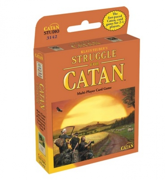 Struggle for Catan: The Multi-Player Card Game