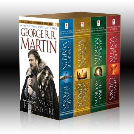 A Game of Thrones Novels: 4-Copy Box Set (HBO Tie-In)