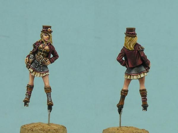 28mm Sci-Fi: Mary Fearless (1)