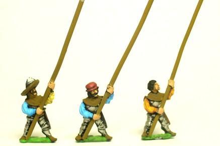 15mm Historical - Landsknechts: Heavy Pikemen [RNL3]