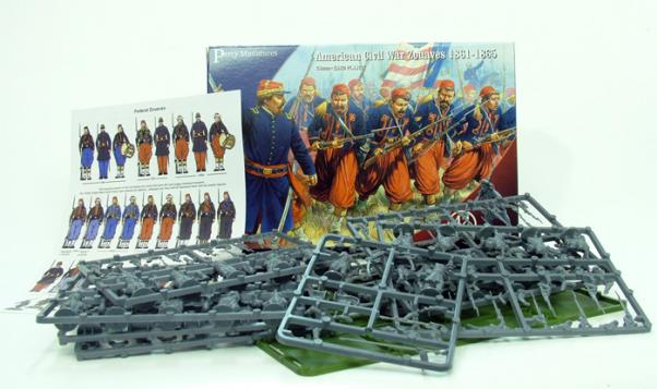 28mm American Civil War: Zouaves (42)