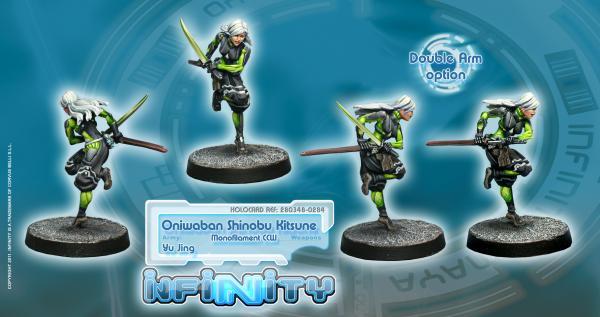 Infinity (#284): (Yu Jing) Oniwaban Shinobu Kitsune (1)
