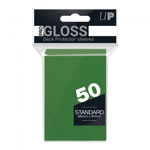 Ultra-Pro Sleeves:  New Standard Green Deck Protectors (50)