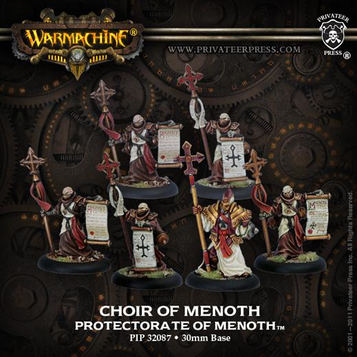 Warmachine: (The Protectorate Of Menoth) Choir Of Menoth (6)