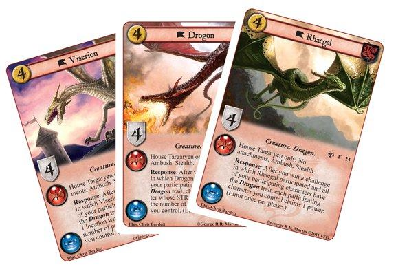 A Game of Thrones LCG: Queen of Dragons Expansion Box Set