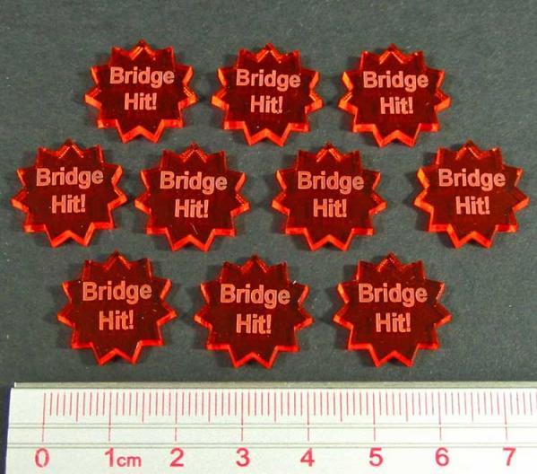 Condition Markers: Bridge Hit! Tokens (10)
