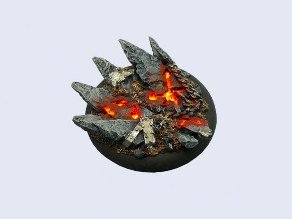 Battle Bases: Chaos Bases, Wround 50mm (1)