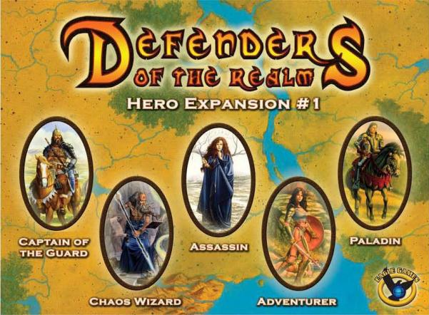 Defenders of the Realm: Hero Expansion # 1