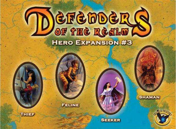Defenders of the Realm: Hero Expansion # 3