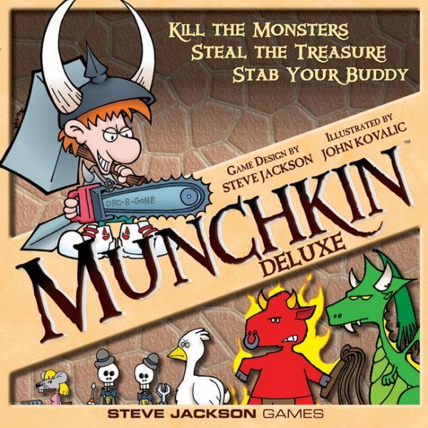 Munchkin Deluxe Core Set