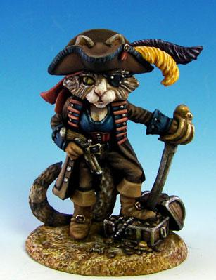 Critter Kingdoms: Ali Sparrow, Female Cat Pirate