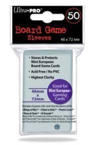 Ultra-Pro: Board Game Sleeves Mini Euro.(50ct)