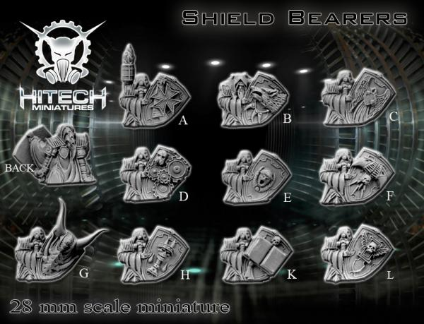 (Universal Soldiers) Shield Bearers (1 Random Figure)