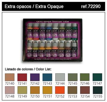 Game Colors: Extra Opaques Paint Set (16 Colors)