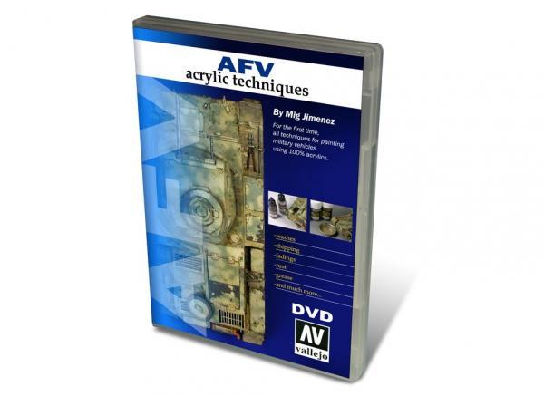 AFV Acrylic Techniques (NTSC) DVD