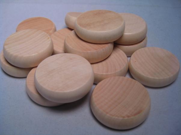 Natural Crokinole Discs (14)