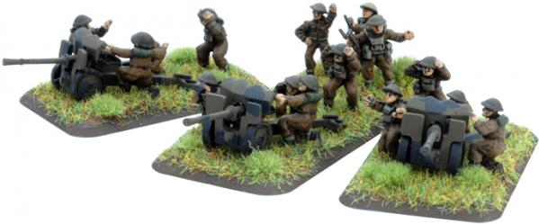 Flames of War - British: Hotchkiss 25mm Gun