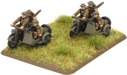 Flames of War - British: Motorcycle Platoon