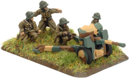 Flames of War - French: 25mm SA-34 Hotchkiss Gun