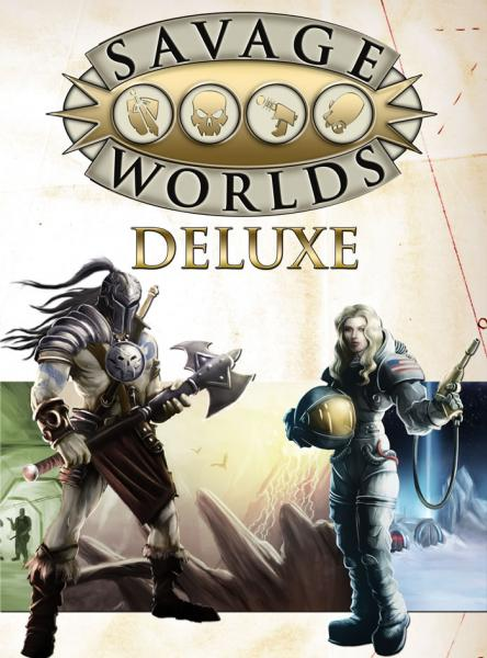 Savage Worlds RPG - Core Rules: Deluxe Edition (HC)