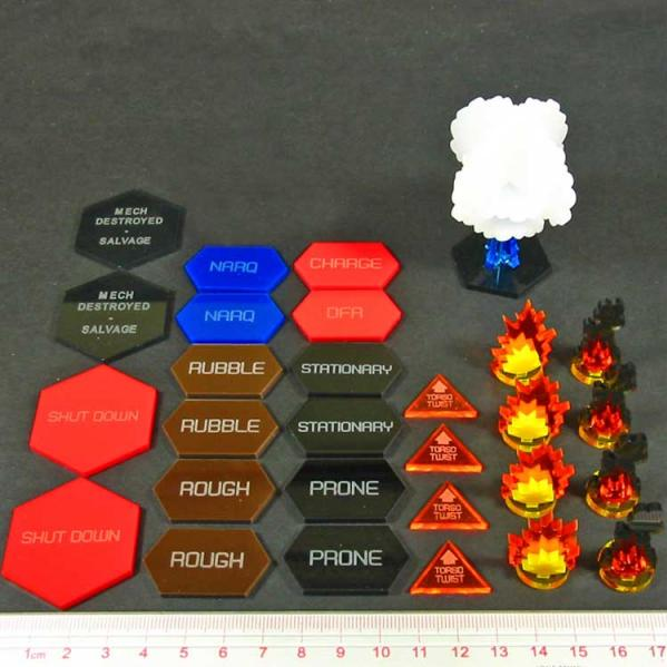 Advanced Mecha Combat Token Set